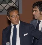 L'avv. Colavita e l'avv. Conte durante la premiazione dei vincitori.